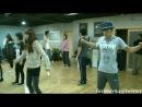 Ким Су Хен вместе с актерами DreamHigh практикуют танец (одержимые мечтой)