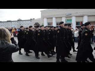 Видяево парад 9 мая2013