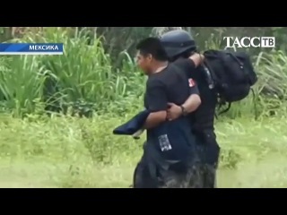 В Мексике в столкновении полиции с наркоторговцами погибли 22 человека