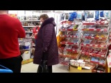 Троллинг в магазине