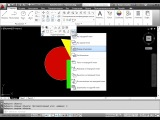 Видеоурок по AutoCAD. Размезение объектов на передний и задний план.