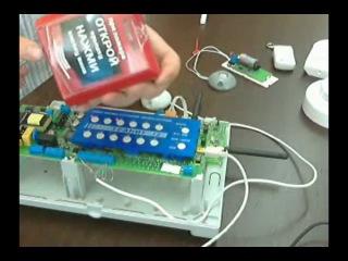 Радиоканальная GSM сигнализация Гранит РА. Общие сведения о системе.
