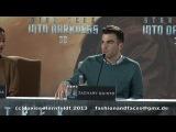 Пресс-конференция фильма «Стартрек: Возмездие» в Берлине (29 апреля, 2013)