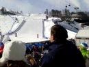 Экстрим-Парк «Роза Хутор» соревнования по сноуборду параллельный гигантский слалом