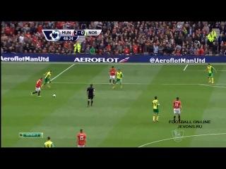 Манчестер Юнайтед 4:0 Норвич Сити(1-ый МАТЧ МЮ при участии  -ГИГГЗА  как ИО ГЛАВНОГО ТРЕНЕРА !