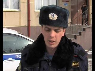 Инспектор полка ДПС УМВД России по г.Тюмени столкнулся с рьяным сопротивлением водителя, который ему в отцы годится