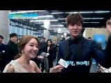 140106 Ким У Бин и И Мин Хо на церемонии «2013 SBS Drama Awards»