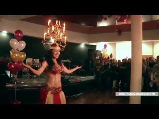 ЧАРУЮЩИЙ ВОСТОК! Зажигательный арабский танец живота никого не оставит равнодушным!   Танец живота шамадан (