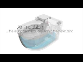 Roca In-Tank умный подвесной унитаз