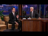 Carson Daly On Top of Time Square - The Tonight Show with Jay Leno