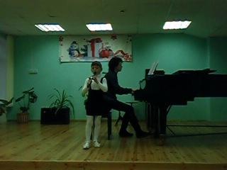 Первый академический концерт Д.Кабалевский