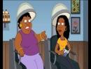 Чёрная ретроспективная женщина