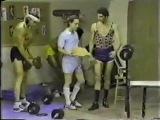 Питер и Дэвид в тренажерке (редкое видео)