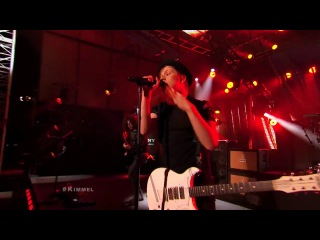 Fall Out Boy- My Songs Know What You Did in the Dark (Light 'Em Up) (Jimmy Kimmel Live)