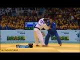 2013 World Championships Rio (-66kg Repechage) SHIKHALIZADA Nijat (AZE) - FUKUOKA Masaaki (JPN)