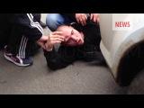 В Москве при задержании подозреваемого в изнасиловании 15-летней девочки дагестанца, толпа его соплеменников с рынка напала на о