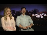 The Hangover Part III: Bradley Cooper, Zach Galifianakis and Heather Graham - video interview