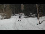 Последняя лыжная тренировка сезона 18.04.2013 п.Сиверский