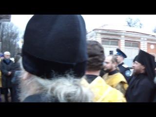 Освящение Креста, в память о 5-летии воссоединения Русской Православной Церкви.  Санкт-Петербург, 3 января