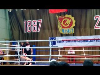 Областные соревнования Саратовской области по М-1 Бои без правил