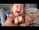 Limon yiyen bebek :)