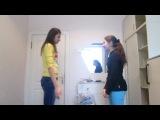 Как трудно учить танцевать Полячку)))