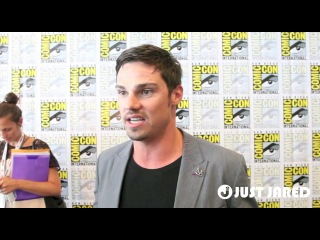 Jay ryan: comic-con 'beauty and the beast' exclusive interview