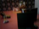 Обзор на первый подарок нв. новый год (LEGO TMNT Kraang lab escape