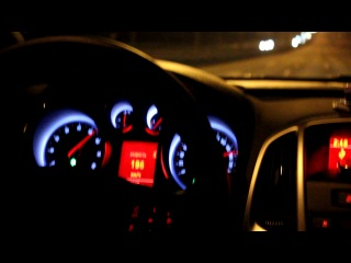 Испытание Opel Astra J GTC 1.6 turbo 180 hp (max speed) часть 2