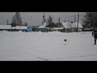Хоккейный турнир в Калевале, посвященный открытию Олимпийских Игр в Сочи. 8.02.2014 г.