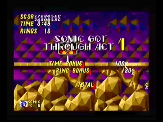 Sonic The Hedgehog 2 - Hidden Palace Zone