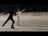 Очень красиво танец на льду с машинами...)))*