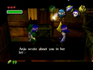 JesuOtaku Let's Play Majora's Mask -- Anju and Kafei