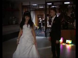 Свадебный танец, вальс муз из к/ф мой ласковый и нежный зверь -зара, Сергей и Юлия Апарины