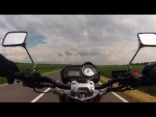 Honda Hornet 600 :  0 - 200 km/h