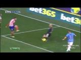 04.01.2014. Ла Лига. 18 тур. Малага - Атлетико Мадрид 0:1