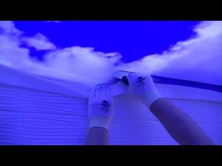 Нереально красивое небо- натяжные потолки