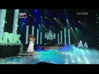 111223 Kang MinKyung(Davichi), Hyorin(Sistar), Jieun(Secret) - Listen (Special Stage) @ Music Bank