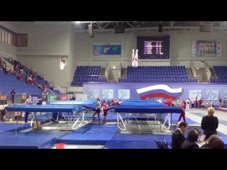 Личное первенство России по прыжкам на батуте 2013