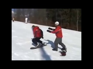 Урок 4. Видео как научиться кататься на сноуборде