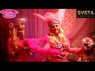 Света Яковлева и Таня Тузова. Анекдот про блондинок. Живые куклы Барби.