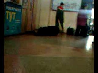 случай на вокзале Хмельницкий