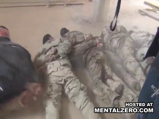 15 tied up iraqi soldiers get shot in the back of the head by a terrorist group