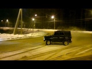 Обкатка нового УАЗа