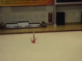 Геличук Диана мяч 2012 апрель Соревнования на призы Алины Кабаевой