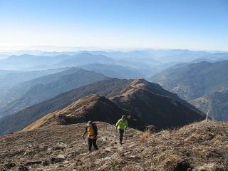 мы на гималайской вершине Марди Химал