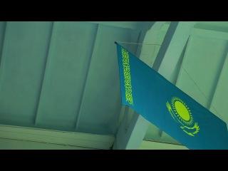 Креативный Павлодар на тренировке сборной  нашего города по баскетболу