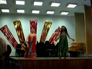 Сцена и дуэт Дарьи и Ксении из оперетты