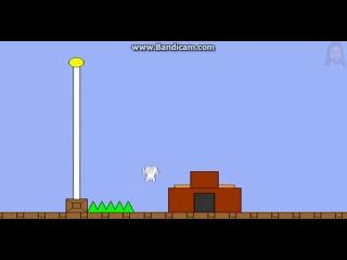 Как джесус орал в Cat Mario (нарезка)