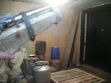 Самодельный пистолет под монтажный патрон обзор....